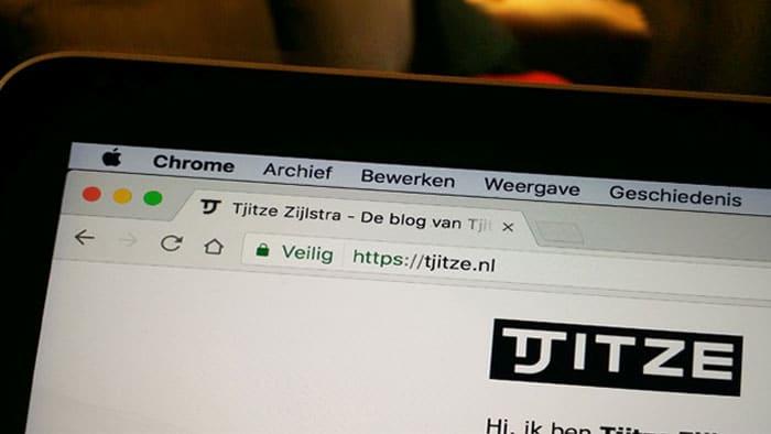 HTTPS en het groene slotje